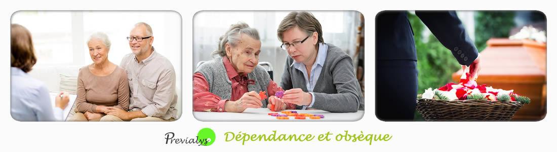 Assurance dépendance et obsèques